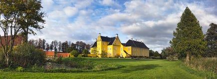 Lykkesholm slott på funen Royaltyfri Foto