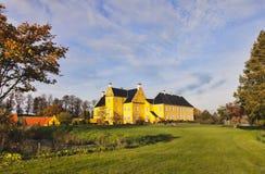 Lykkesholm slott på funen Royaltyfria Bilder