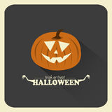 Lykta för Halloween stålarnolla stock illustrationer