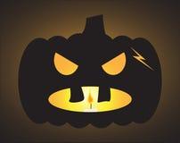 Lykta för Halloween stålarnolla Royaltyfri Fotografi