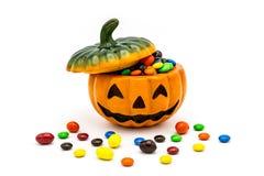 Lykta för Halloween stålarnolla Royaltyfri Foto