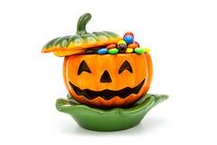 Lykta för Halloween stålarnolla Arkivbild