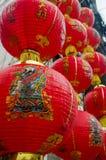 Lykta för traditionell kines Arkivbild