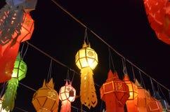 Lykta i thailändsk kultur arkivfoto