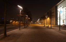 Lykta på Paul-Löbe-Haus Arkivfoto