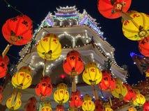Lykta under kinesiskt nytt år arkivfoton