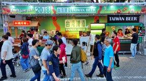 Lyktafestivalen 2018 i Taiwan Royaltyfria Bilder