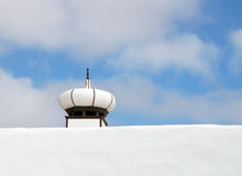 Lyktan formade lampglaset på ett tak på Lanzarote Royaltyfria Bilder