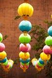 Lyktorna för traditionell kines royaltyfria bilder