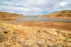 Lyman lake Arizona Royalty Free Stock Image