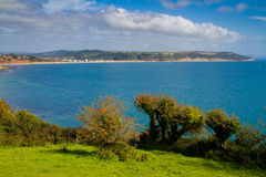Lyme Bay near Beer and Seaton Devon Royalty Free Stock Images