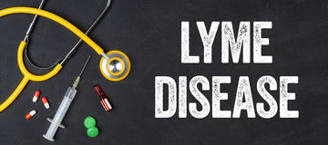 Lyme Disease Royalty Free Stock Photography