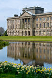 Lyme Hall in Spring Royalty Free Stock Photos