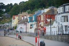 Lyme Regis, Дорсет, Великобритания Стоковое Изображение RF
