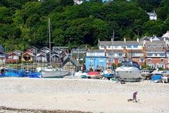 Lyme Regis Beach Imagem de Stock Royalty Free