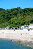 Lyme Regis Beach Fotos de Stock