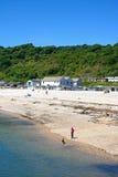 Lyme Regis Beach Fotografia de Stock