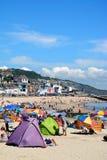 Lyme Regis Beach Lizenzfreies Stockbild