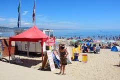 Lyme Regis beach. Royalty Free Stock Photography