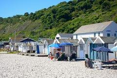 Lyme Regis beach. Stock Photos