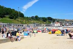 Lyme Regis beach. Royalty Free Stock Image