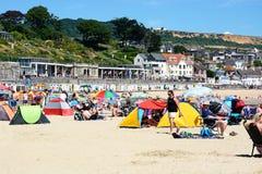 Lyme Regis beach. Royalty Free Stock Photo