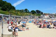 Lyme Regis beach. Royalty Free Stock Images
