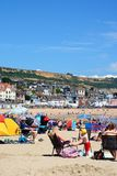 Lyme Regis beach. Stock Images