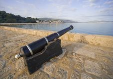Lyme regis dorset Royalty Free Stock Images