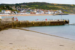 Lyme Regis Dorset Anglia Zdjęcia Royalty Free