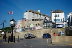 Lyme Regis Dorset Großbritannien Lizenzfreies Stockbild
