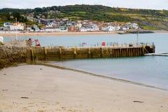 Lyme Regis Dorset Inghilterra Fotografie Stock Libere da Diritti