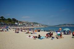 Lyme Regis Dorset Regno Unito Fotografie Stock Libere da Diritti
