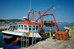 Lyme Regis Dorset Regno Unito Fotografia Stock