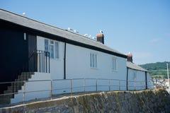 Lyme Regis Dorset Regno Unito Immagine Stock