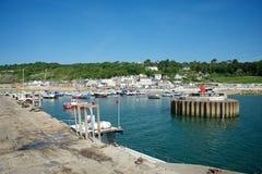 Lyme Regis Dorset Reino Unido Fotos de archivo