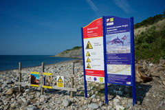 Lyme Regis Dorset Reino Unido Imágenes de archivo libres de regalías