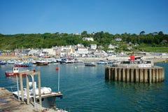 Lyme Regis Dorset Reino Unido Fotos de Stock Royalty Free