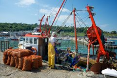 Lyme Regis Dorset UK Royalty Free Stock Photography