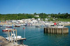 Lyme Regis Dorset UK Royalty Free Stock Photos