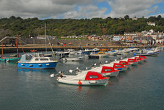 Lyme Regis Harbour Stock Photos