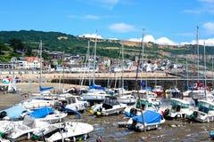 Lyme Regis Harbour. Royalty Free Stock Photo