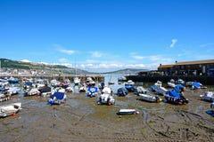 Lyme Regis Harbour. Royalty Free Stock Photos