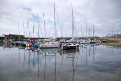 Lyme Regis Harbour - May 2015 Royalty Free Stock Images