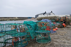 Lyme Regis Harbour Stock Photography