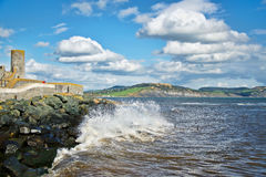 Lyme Regis Looking East Stock Images