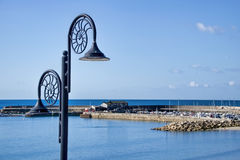 Lyme Regis Overview - July 2015 Royalty Free Stock Photography