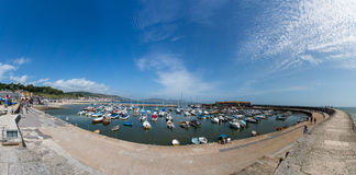 Lyme Regis Stock Photo