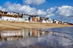 Lyme Regis Seafront Royalty Free Stock Photo