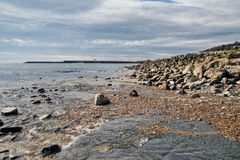 Lyme Regis Seascape Royalty Free Stock Photos